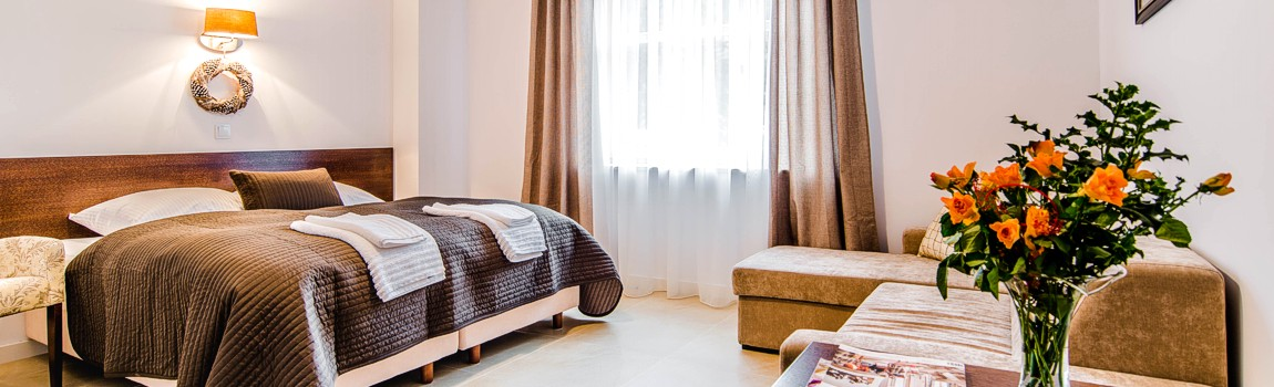 Ekskluzywne pokoje i apartamenty